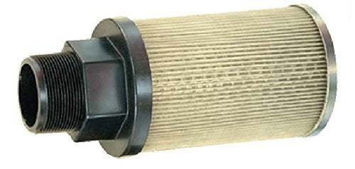 "Flow Ezy Filters, Inc. P10 1 100 Suction Strainer with Nylon Connector End, 10 GPM , 1"" Female NPT, 100 Mesh Size"
