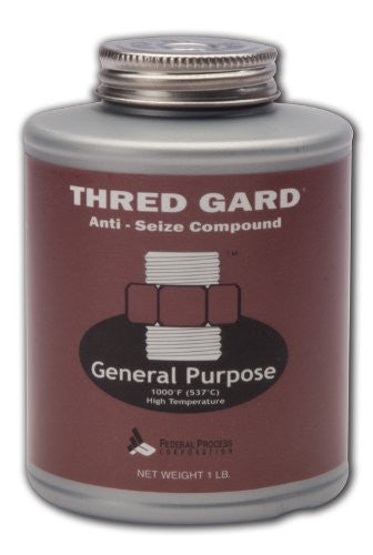 Gasoila Thred Gard General Purpose Anti-Seize and Lubricating Compound, 1 lbs Brush
