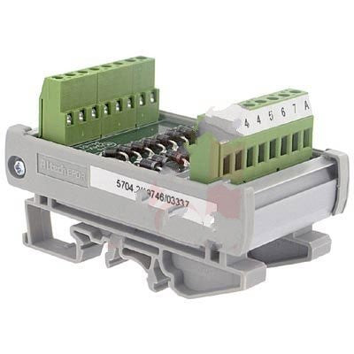Altech 5704.2 , Interface Module, Diode, DIN Rail, Panel Mount, 14, 22-12 AWG, 250 V