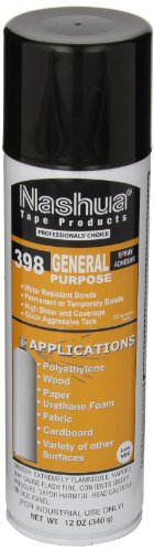 Nashua Low VOC General Purpose Spray Adhesive, Clear