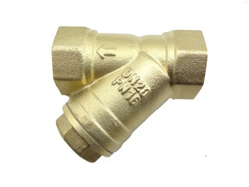 "MISOL 10 pcs of 3/4"" (BSP, DN20) Brass Y Type Strainer Valve Connector Fitting"