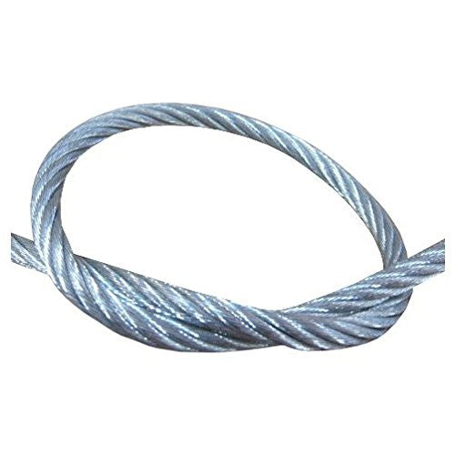 "5/16"" (7 X 19) Galvanized Wire Cable (Per ft.) - Safe Work Load 1,960 lbs"