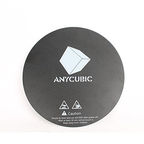 Anycubic 200mm Adhesive 3D Printing Build Surface High Temperature Resistant Sticker for Delta Kossel 3D Printer Glass Plate