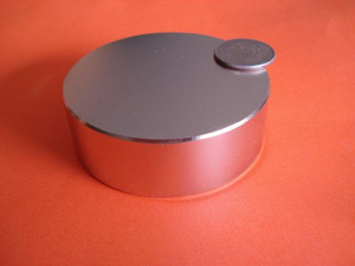 "Super Strong Neodymium Magnet N48 3 x 1"" Permanent Magnet Disc, The World's Strongest & Most Powerful Rare Earth Magnets by Applied Magnets"