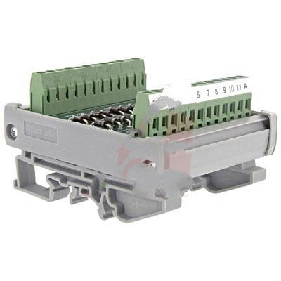 Altech 5705.2 , Interface Module, Diode, DIN Rail, Panel Mount, 22, 22-12 AWG, 250 V