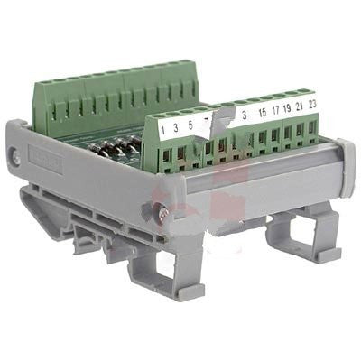 Altech 5703.2 , Interface Module, Diode, DIN Rail, Panel Mount, 12, 22-12 AWG, 250 V