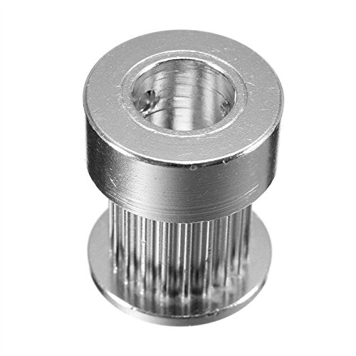 GT2 Timing Pulley 20Teeth Alumium Gear Bore 5MM 6.35MM 8MM For GT2 Belt Width 10mm For 3D Printer (A) by OverMazz