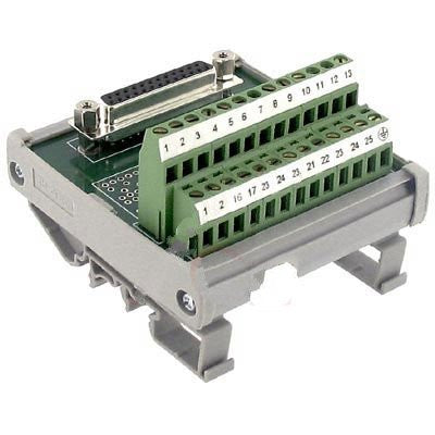 Altech 5747.2 , Interface Module, D-Sub, Screw-Cage, 25, 22-12 AWG, 4A, 250VAC, Female
