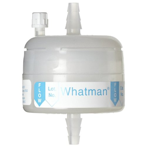 Whatman 6703-3650 Polycap HD 36 Polypropylene Capsule Filter with SB Inlet and Outlet, 60 psi Maximum Pressure, 5.0 Micron