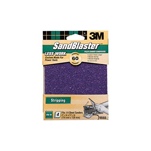 3M Silicon Carbide Sandpaper 4.5 in. W x 5.5-Mfg# 9660 - Sold As 20 Units