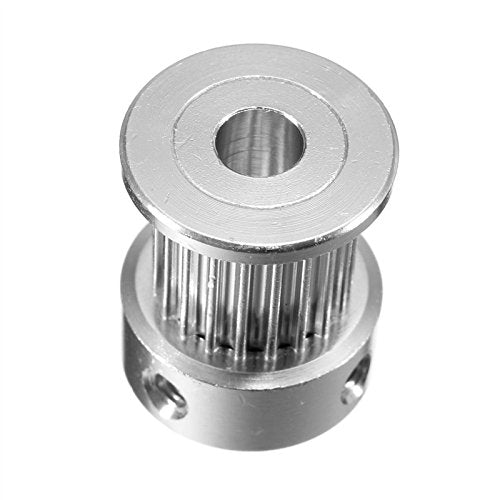 GT2 Timing Pulley 20Teeth Alumium Gear Bore 5MM 6.35MM 8MM For GT2 Belt Width 10mm For 3D Printer (B) by OverMazz
