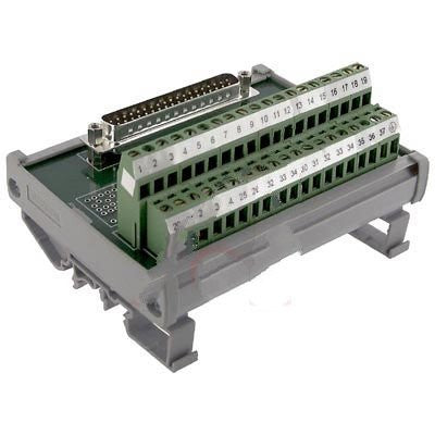 Altech 5743.2 , Interface Module, D-Sub, Screw-Cage, 37, 22-12 AWG, 4A, 250VAC, Male