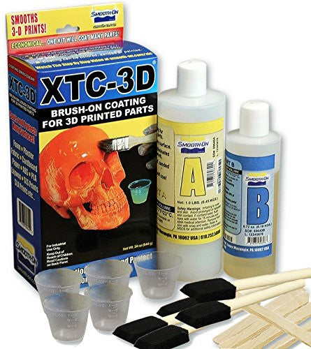 Filabot XTC24VP XTC-3D High Performance 3D Print Coating, Value Pack, 24 oz., Clear