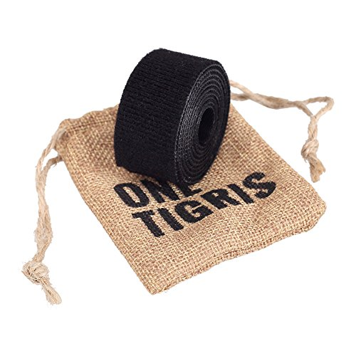 "OneTigris Tactical Nylon Strap Black 1"" Wide 1 Yard Length (Black)"
