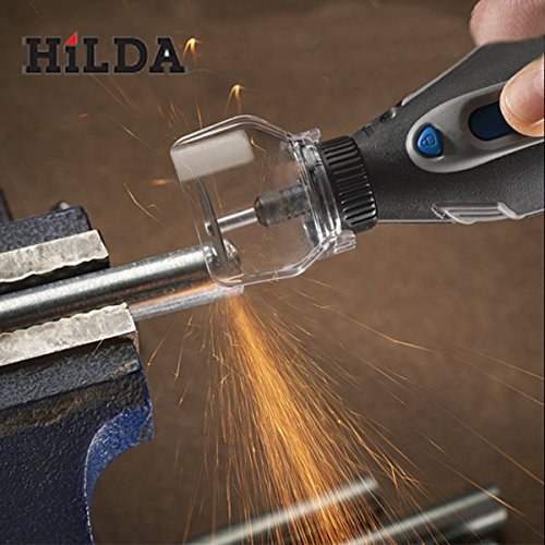 HiLDA Safety Protective Cover Electric Grinder Transparent Cover Shield For Dremel by OverMazz
