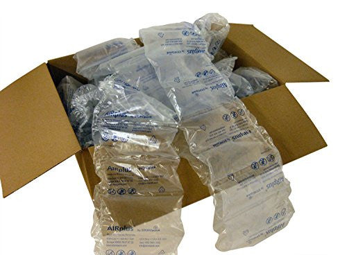 "175 Pre-Filled 4"" x 8"" Clear Cushioning Air Pillows from Storopack"