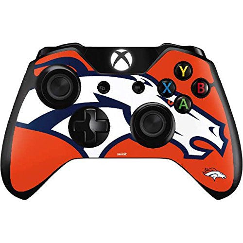 NFL Denver Broncos Xbox One Controller Skin - Denver Broncos Large Logo Vinyl Decal Skin For Your Xbox One Controller