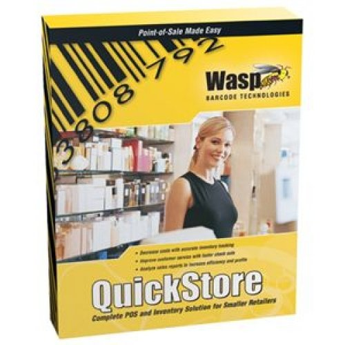 Wasp Quickstore Enterprise Pos Solution with Hardware and 2 Store Licenses