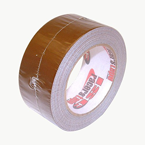ISC Standard-Duty Racer's Tape: 2 in. x 30 yds. (Brown)