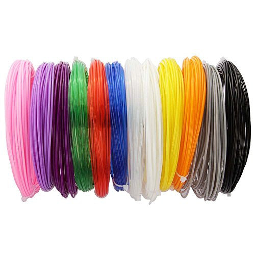 Soyan 3D Pen Filament Refills Pack, Non-Toxic 1.75mm PLA, Total 396 Feet of 12 Colors, 33 Feet for Each Color