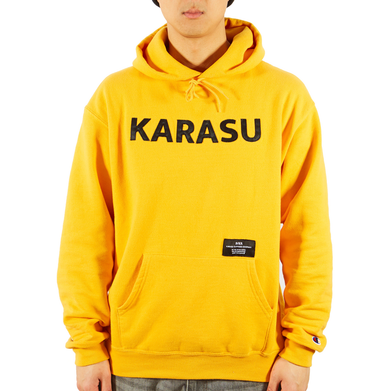 Karasu X Champion Pullover YELLOW