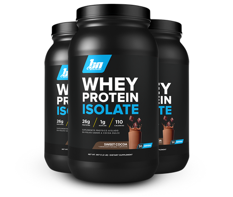 WHEY PROTEIN ISOLATE SWEET COCOA (30 SERVIDAS) (2 LB)