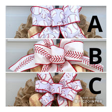 Baseball Wreath, If We Don't Answer We're At The Ballfield Baseball Burlap Wreath, Sports Wreath
