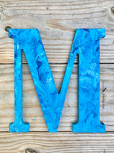 "Custom Painted Letters, Personalized Wall Hanging, Kids Monogram, 8"" Letter, Wreath Attachment Sign"