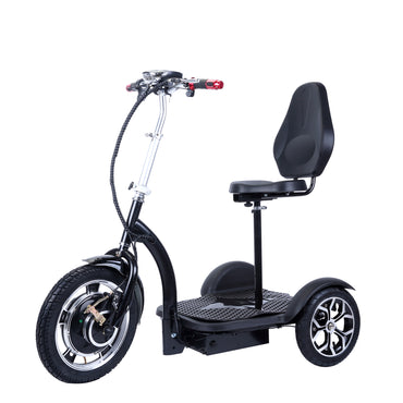 3-Wheel Electric Mobility Scooter with 16-inch Front Wheel (Floor Model Open Box)