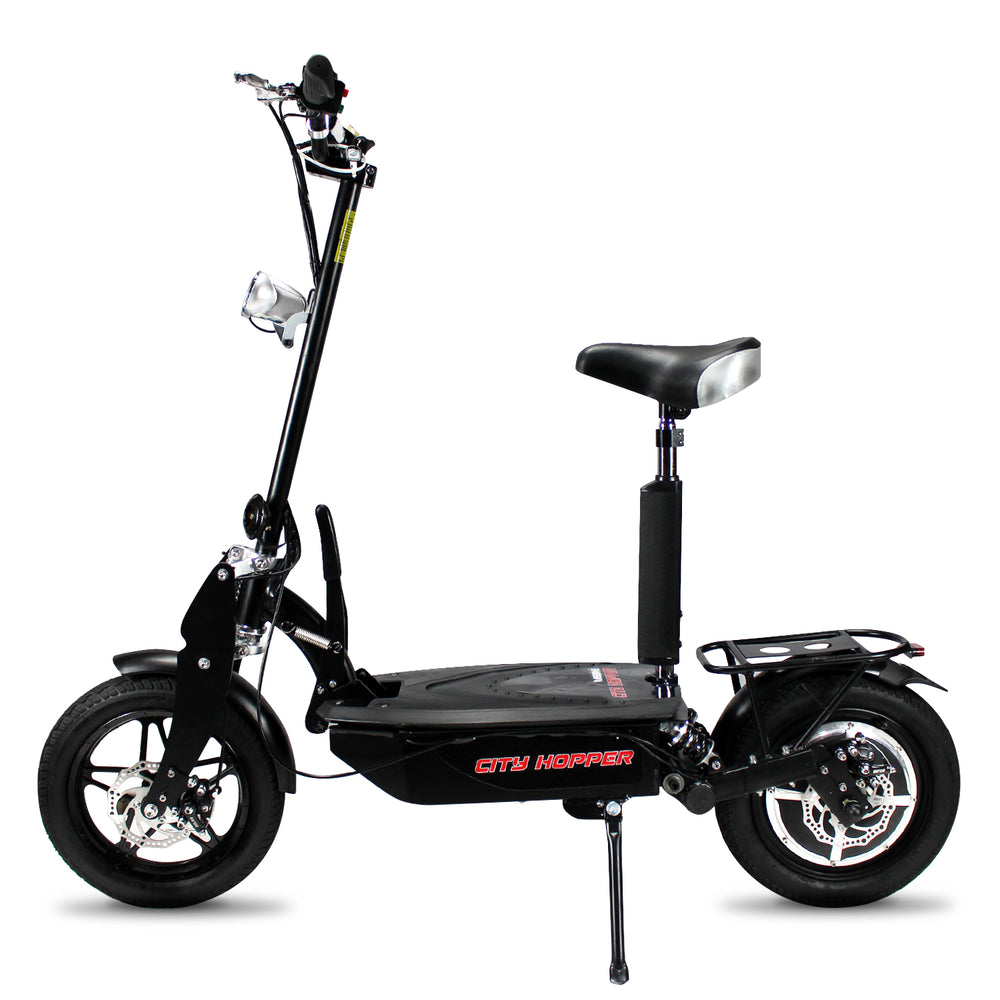 City Hopper Super Turbo Brushless 1000W Electric Scooter - CH16D-BK