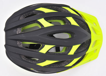 Momentum IM5 Multi-Purpose Bicycle Helmet - Black / Neon Yellow