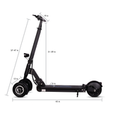 CLEARANCE ITEM! Tri-Star 3-Wheel Electric Scooter with 8-Inch wheels, 350W Motor, Patented Electric Kick Scooter (Open Box)
