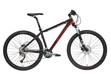 Factory Mountain Bike 27 Speed Alloy Frame 27 Gears Alloy Rims Black Bicycle