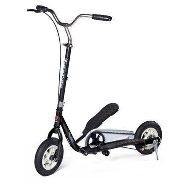 Ped-Run Teens Scooter, Bike Scooter Hybrid, Top Speed, Foldable, Free Riding Scooter