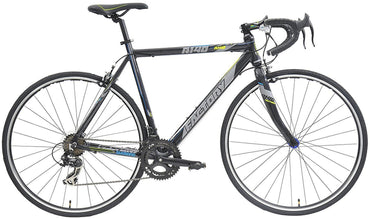 All New Road Bike R140 w/ 14 Gears Lightweight Black Bicycle by Factory Bikes BR