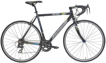 All New Road Bike R140 w/ 14 Gears Lightweight Black Bicycle by Factory Bikes