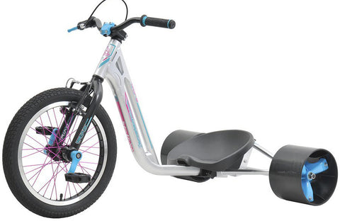"Triad Drift Trike - Countermeasure 2 - Youth Tricycle with 18"" Wheel, 36 spoke, Oath Grips for Ages 7 & Up"