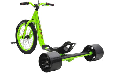 Triad Drift Trike Underworld 3 - Adult Tricycle with Snake Head Frame, Glow in the Dark, Lantern 2