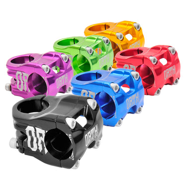 Triad Drift Trike - OATH Handle Bar Stem, Made of Forged Aluminum, 4 bolt clamp (Black, Blue, Red, Purple, Green, Orange)