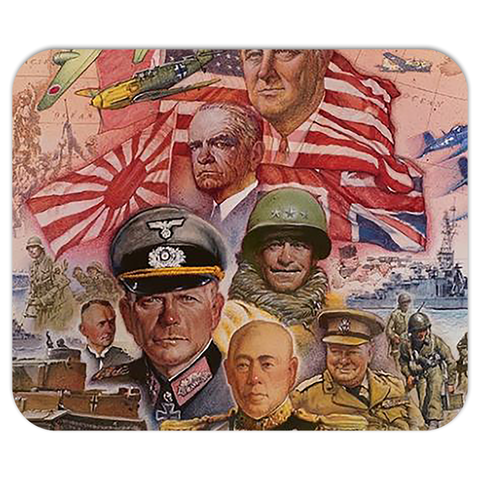 Axis & Allies Box Art Style 2 Mouse Pad
