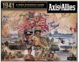 Avalon Hill Axis & Allies 1941 Strategy Board Game