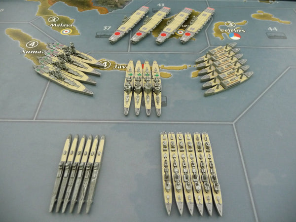 Custom Painted Japanese Fleet By Greg (30 Pieces)