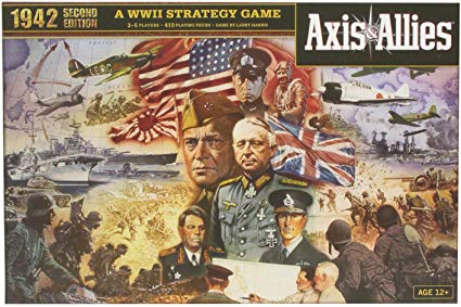 Avalon Hill Axis & Allies 1942 Second Edition Strategy Board Game