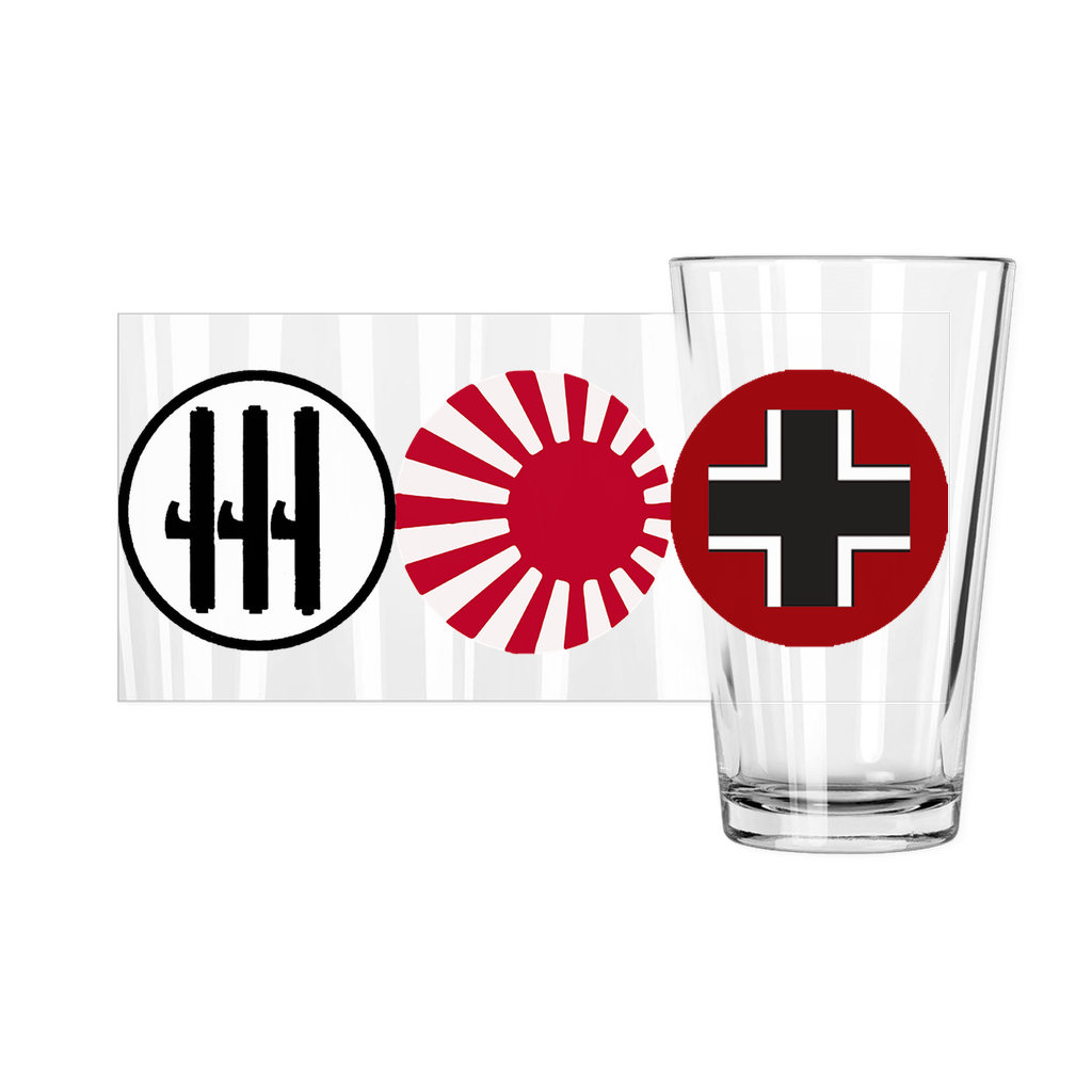 Axis & Allies: Axis Roundel Pint Glass