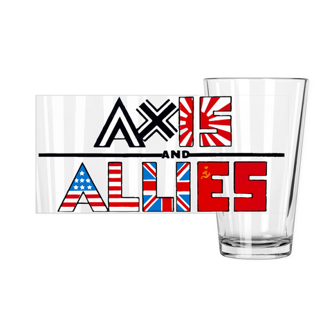 Axis & Allies Pint Glasses