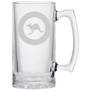 Aussie Airforce Roundel Beer Mug