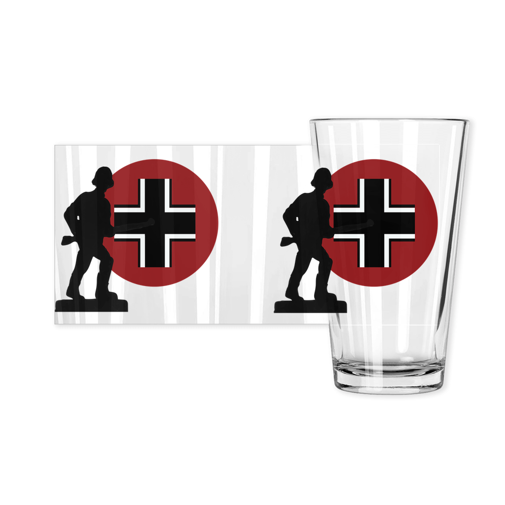 Axis & Allies German Roundel Pint Glass