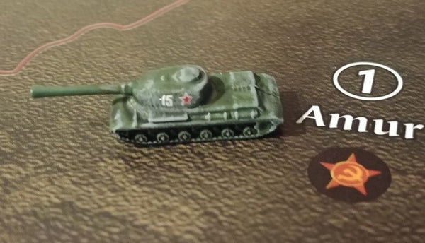 1/285 WW2 Soviet Union Armor & Aircraft Numbers in White