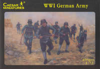 Caesar Miniatures 1/72 WW1 German Army