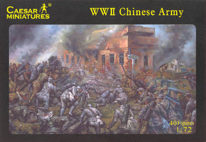 Caesar Miniatures 1/72 WW2 Chinese Army